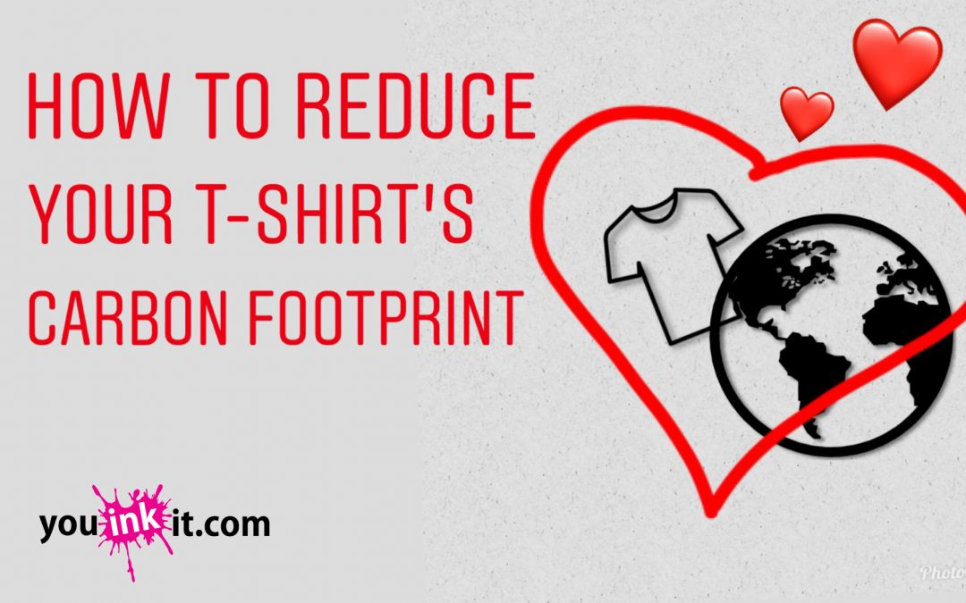 How to Reduce your T-shirt's Carbon Footprint