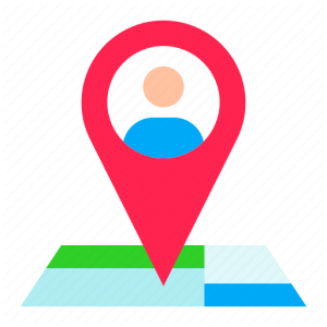alt our address pointer red and map